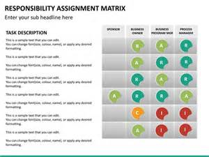 Project Plan Excel Template Free Responsibility Assignment Matrix Powerpoint Template Sketchbubble