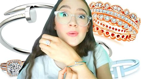 I Tried Fake Tiffany & Cartier Jewelry That Looks Real? Fionafrills Homemade Jewelry Making Kit Jewellery In Parrys Chennai Copper Makers Rust Disney Endless Australia Purple Snap Wire Youtube