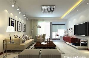 25 pop false ceiling designs with led ceiling lighting With living room lighting design ideas