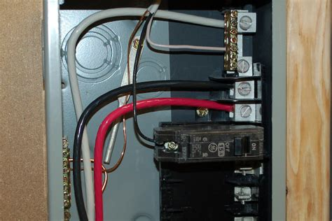 Installing Electrical Sub Panel Icreatables
