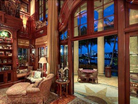 fort lauderdale mediterranean style estate  beautiful grand staircase idesignarch