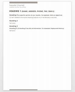 How To Write A Objective For A Resumes How To Write A Resume Dummies