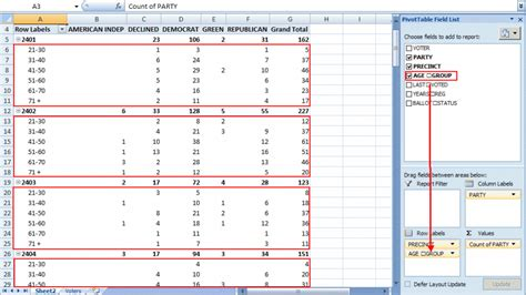excel pivot table tutorial excel pivot table tutorial sle productivity portfolio