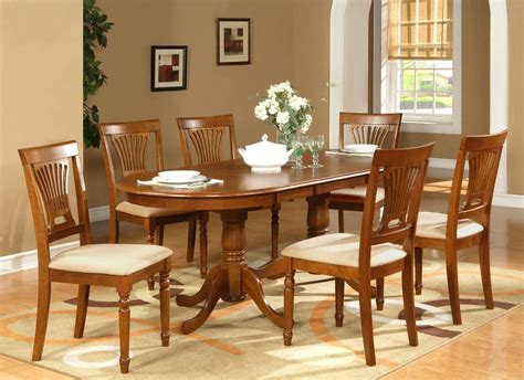 oval dining table and chairs 7pc oval dining room set table 42 quot x78 quot with leaf and 6