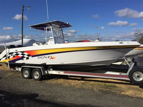 Aluminum Boats For Sale In Nj by Donzi Center Console Boats For Sale In New Jersey