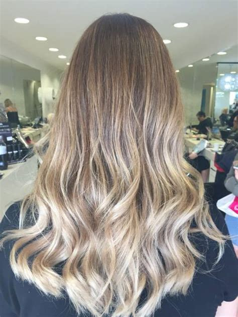 balayage with babylights