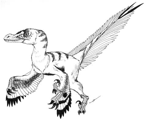 Indominus Kleurplaat by Coloring Pages Velociraptor Blue Jurassic Coloring Pages