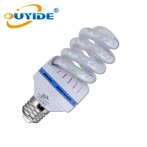 150 watt equivalent a19 spiral led bulb 16w daylight 6000k