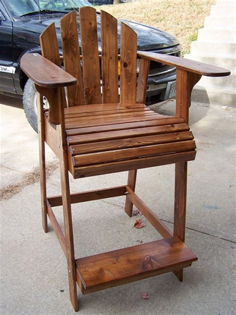 bar height adirondack chair plans adirondack chair projects i might try