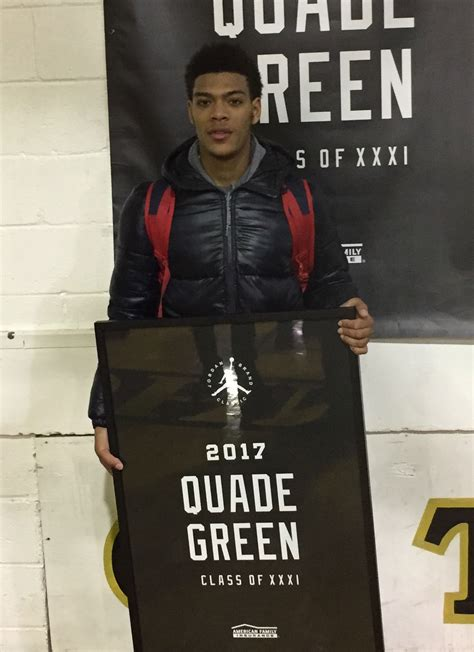 kentucky signee quade green honored  jordan brand