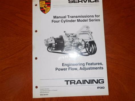 Manual transmissions just don't make a lot of sense on electrified vehicles. Porsche - Service Training Manual Trans 4cyl Models - WKS ...