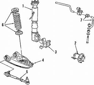 1988 Cadillac Deville Suspension Strut