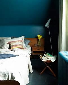 Déco Chambre Bleu Canard : comment utiliser la couleur bleu canard dans sa d co ~ Melissatoandfro.com Idées de Décoration