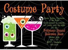 Halloween Costume Party Invitation – Festival Collections