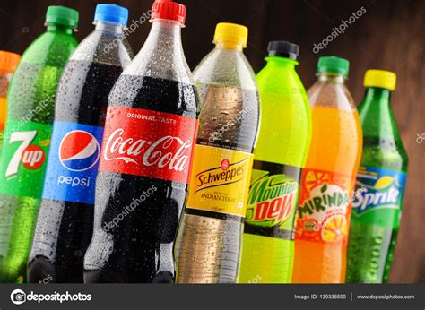 Bottles of assorted global soft drinks – Stock Editorial ...