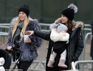 Tamara Ecclestone and Petra Stunt at Winter Wonderland ...