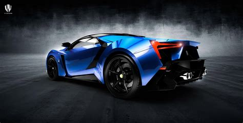 First Look At W Motors' Next Model, The Lykan Supersport