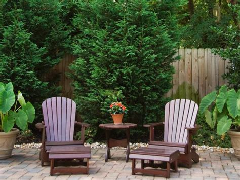 create a stylish outdoor space on a budget hgtv