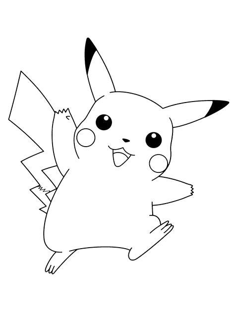 Picachu Kleurplaat by Paradijs Kleurplaat Pikachu