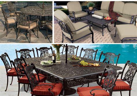 cast aluminum collections patio furniture fortunoff
