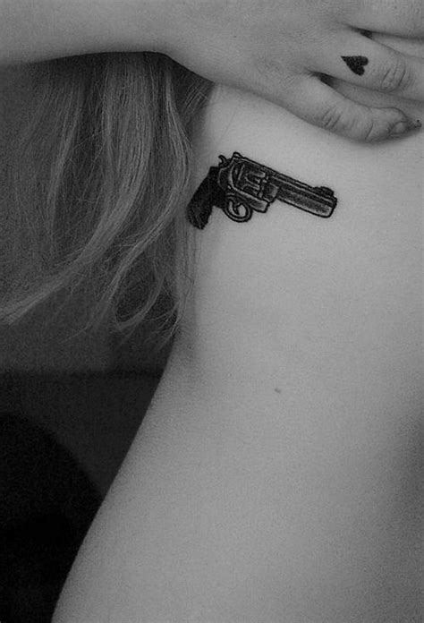 Small and Simple | Ink | Pinterest | Pistols, Gun tattoos and Love this