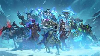 everything we about hearthstone s knights of the frozen throne blizzard
