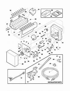 Universal  Multiflex  Frigidaire  Universal  Ice Maker Parts