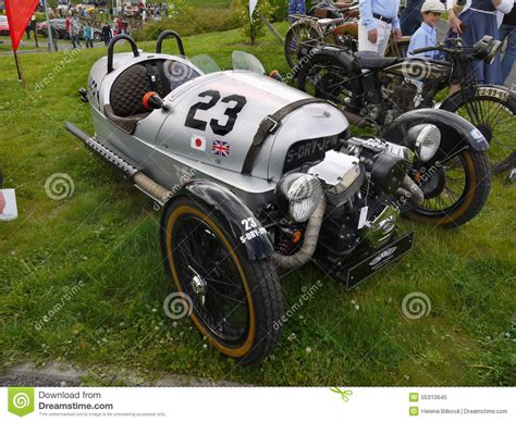 Vintage Race Motorcycle, Bmw Editorial Image