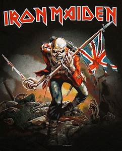 Iron Maiden The Trooper Album Cover Band T Shirt Tee on ...