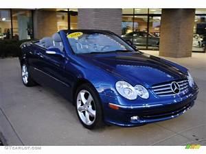Mercedes Clk 320 Cabriolet : 2004 orion blue metallic mercedes benz clk 320 cabriolet 73808846 car color ~ Melissatoandfro.com Idées de Décoration
