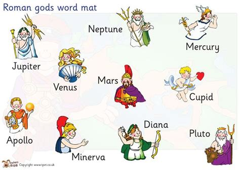 Gods And Goddesses And Other Divinities