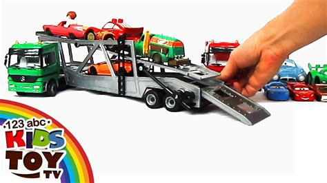 = Сar Transporters Car For Kids. Toys = ☺123abc Kids Toy