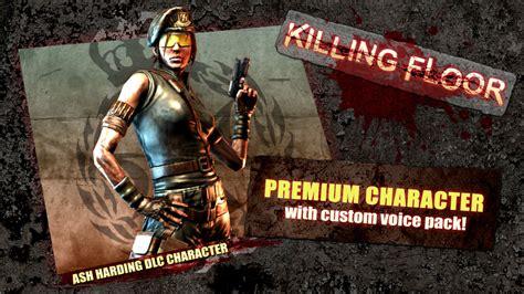 killing floor 2 unlockable characters killing floor ash harding character pack
