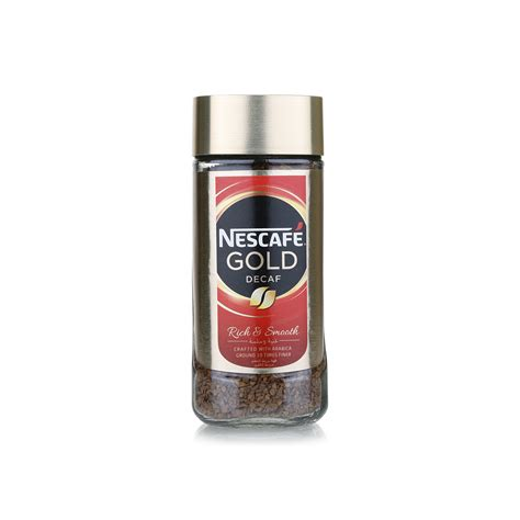 Whereas nescafe gold is less roasted and has more flavor and less caffine. Nescafé gold decaf instant coffee 100g - Spinneys UAE