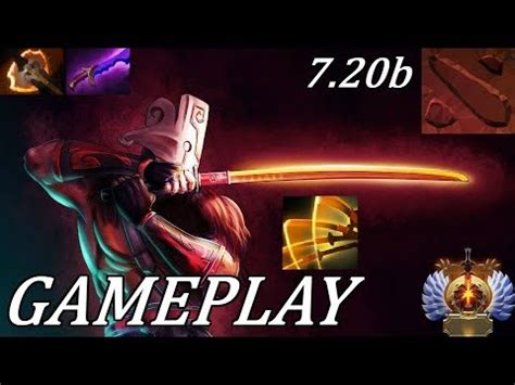 dota 2 7 20 new omnislash juggernaut ranked gameplay commentary youtube