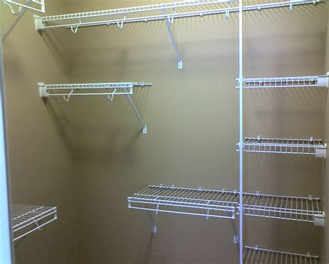 closet rod support pole home design ideas