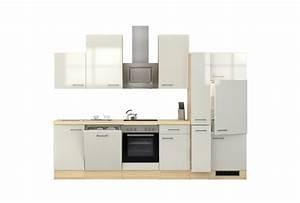 Küchenzeile 310 Cm : k chenzeile florenz k che mit e ger ten 15 teilig breite 310 cm perlmutt wei k che ~ Indierocktalk.com Haus und Dekorationen