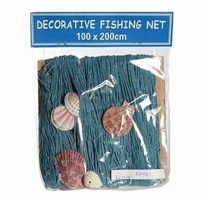 Fischernetz Mit Muscheln : blaues deko fischernetz mit muscheln f r maritime deko ~ Sanjose-hotels-ca.com Haus und Dekorationen