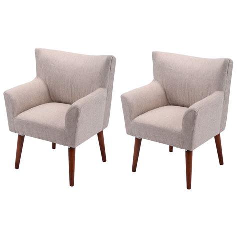 giantex pcs beige leisure arm chair modern single couch