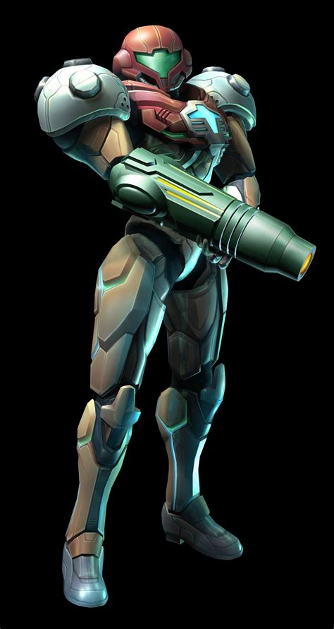 Samus Arans Modified Ped Phazon Enhancement Device Suit
