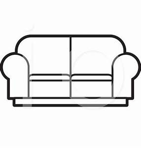 Couch Clipart Black And White | Clipart Panda - Free ...