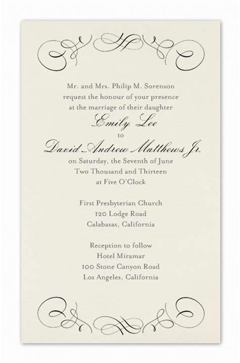 Formal Wedding Invitation Wording Fotolip com Rich image