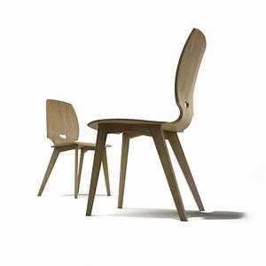 chaise de salle a manger design en bois finn mobilier With salle À manger contemporaineavec chaise bois design