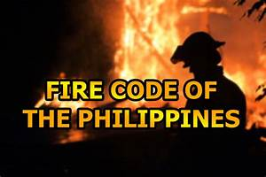 Fire Code Of The Philippines