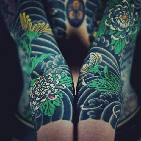 chrysanthemum irezumi tattoo google zoeken tats