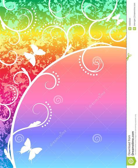 rainbow background stock photo image