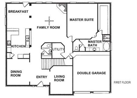 new home design plans floor plans for new homes to get home decoration ideas