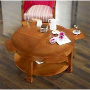 Couchtisch Rund Holz Design
