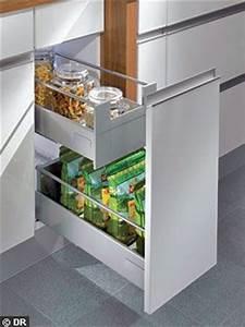 Tiroir Coulissant Cuisine : meubles de cuisine les nouveaux tiroirs ont la cote ~ Premium-room.com Idées de Décoration