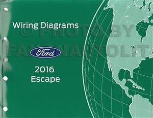 2016 Ford Escape Wiring Diagram Manual Original